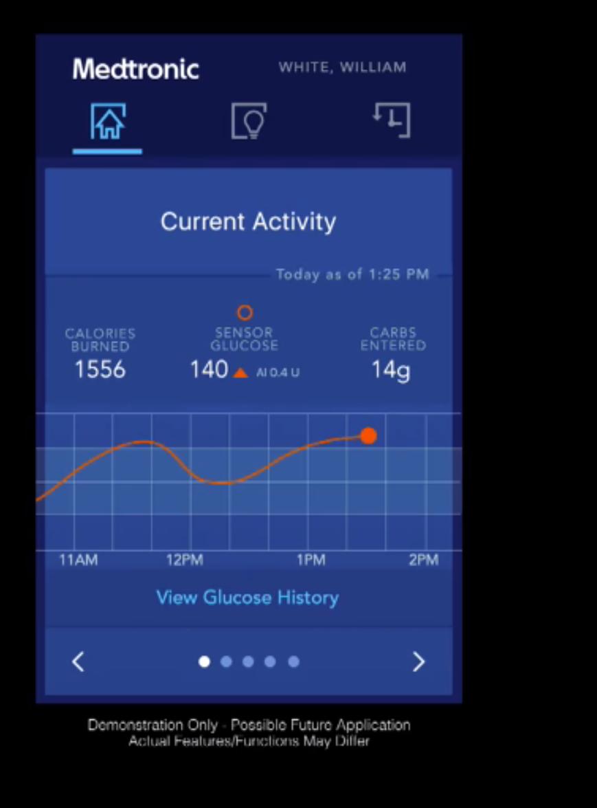 IBM Watson Medtronic app