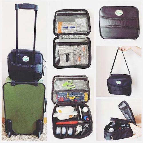 Sleek New Travel Bags For Diabetes Gear