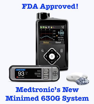 FDA Approved Minimed 630G