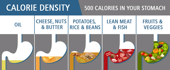 calorie density how to lose weight eating more food