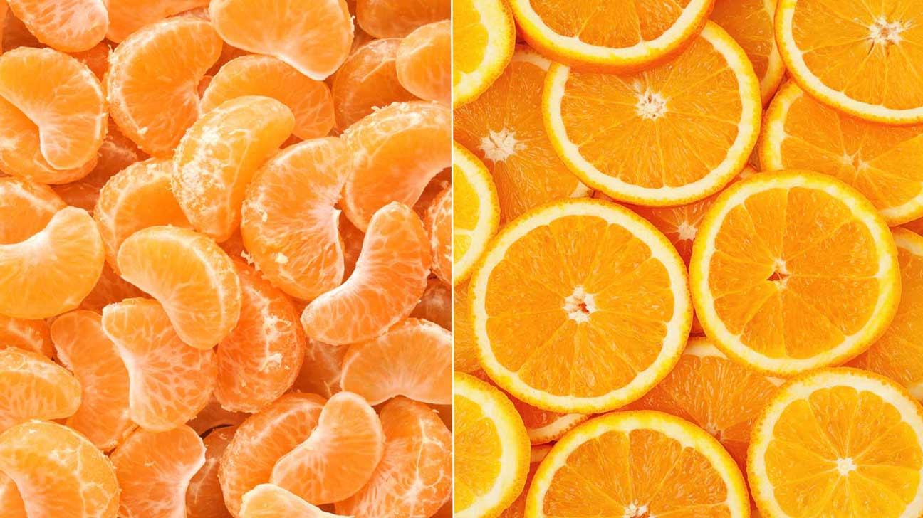Difference Between Tangerines and Oranges