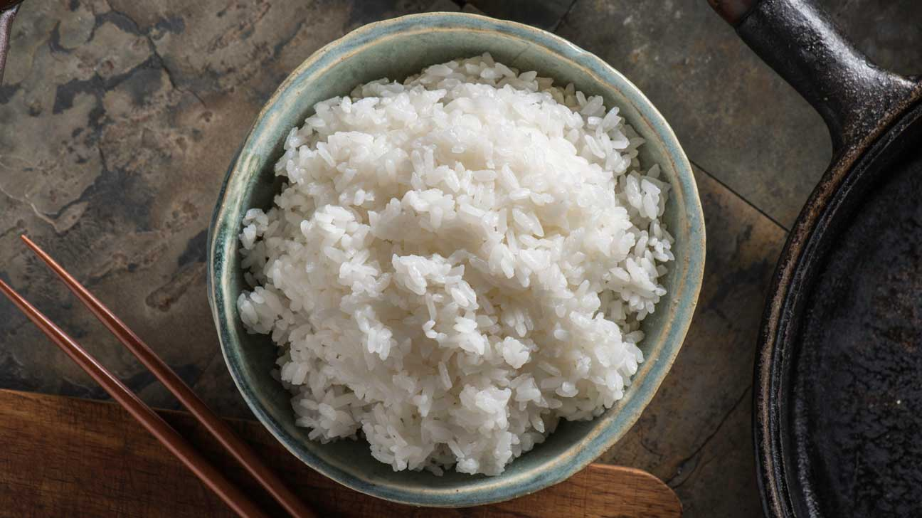 is white rice good for a healthy diet?