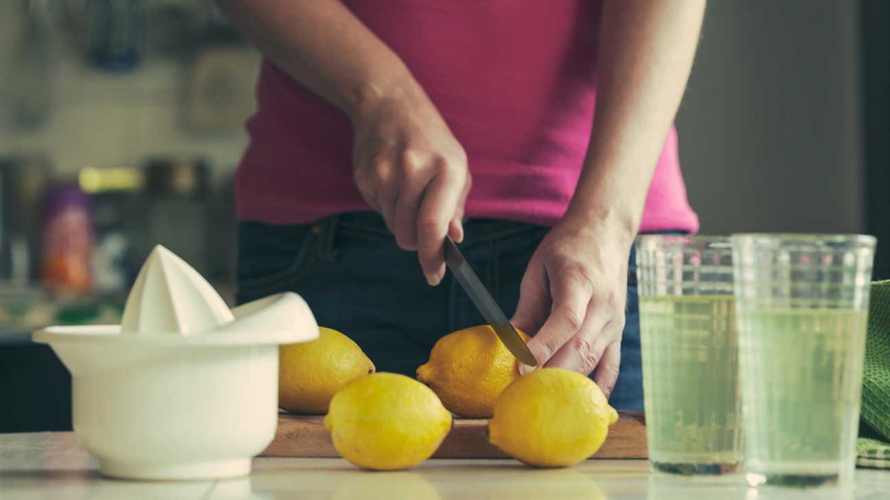 calories and fat in the lemonade diet