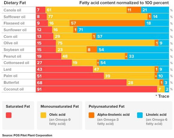 fatty acid breakdown