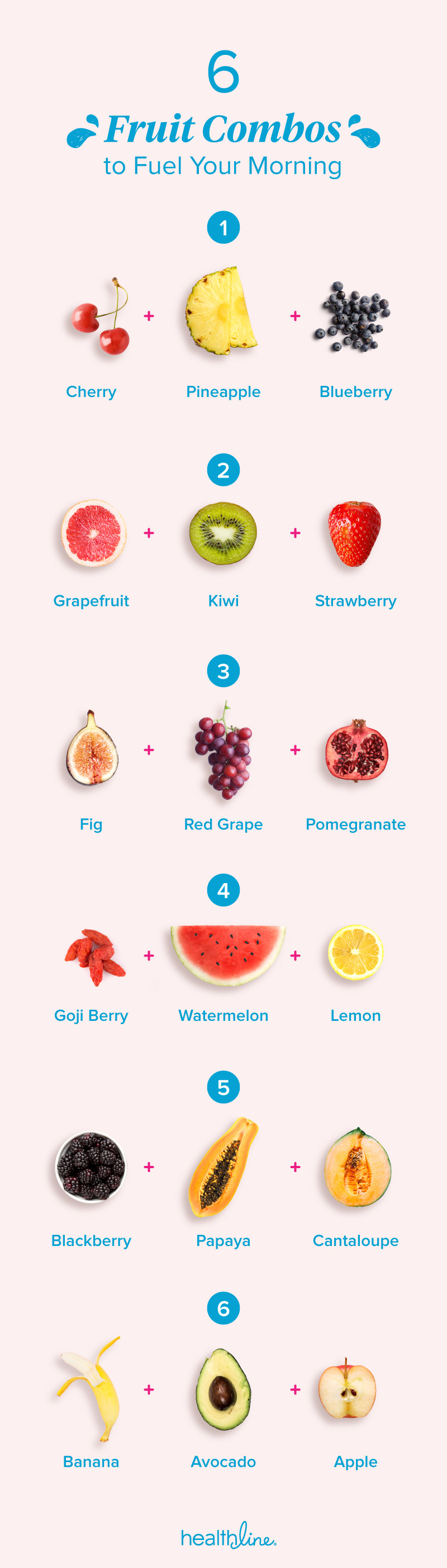 the best fruit combos for breakfast