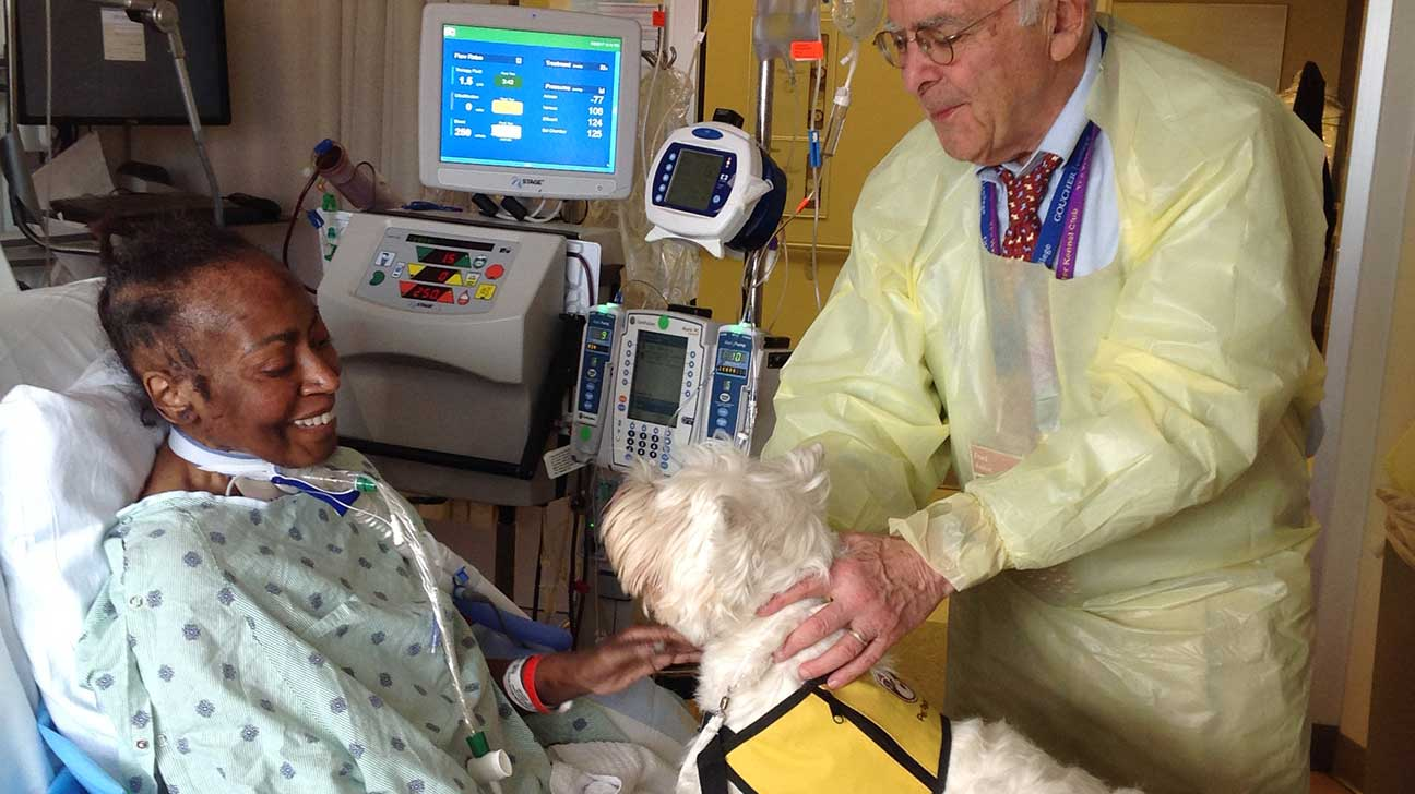 ICU Pet Therapy