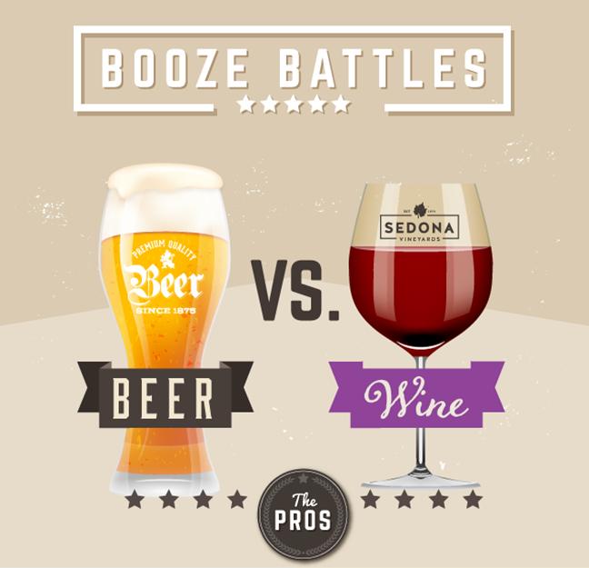 booze battles pros