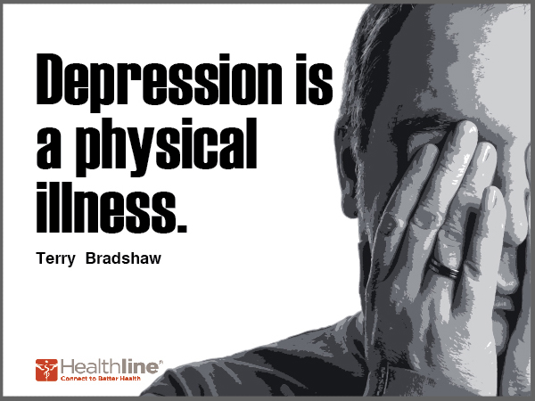 Depression is a physical illness.