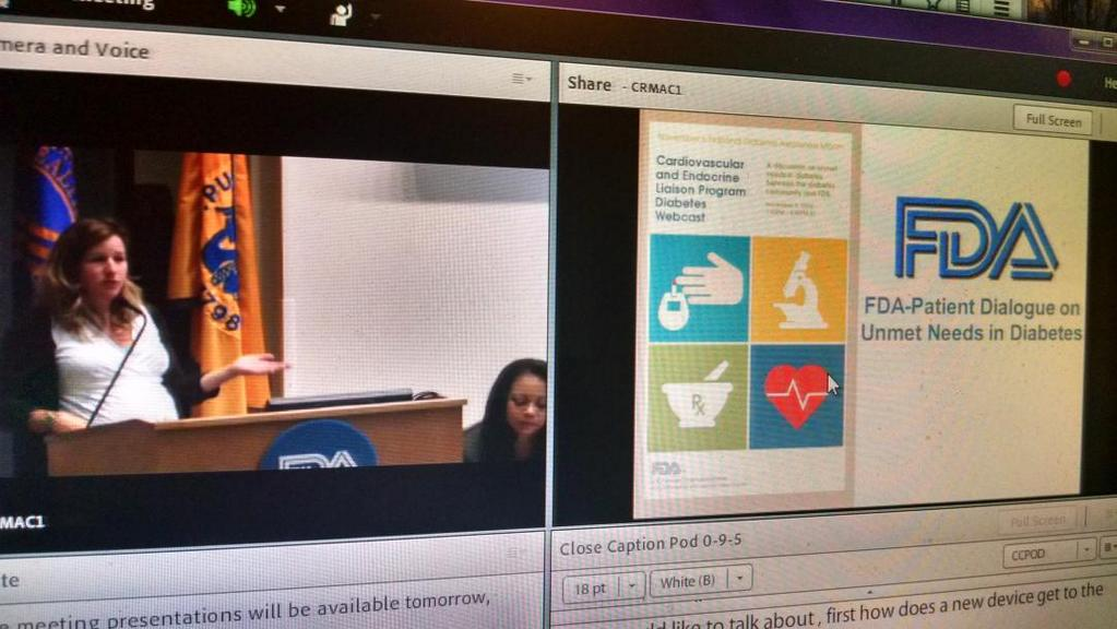 DOCAsksFDA Picture Courtney Lias Speaking