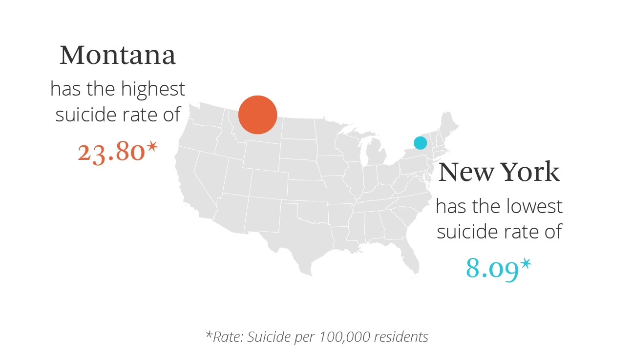suicide map of united states
