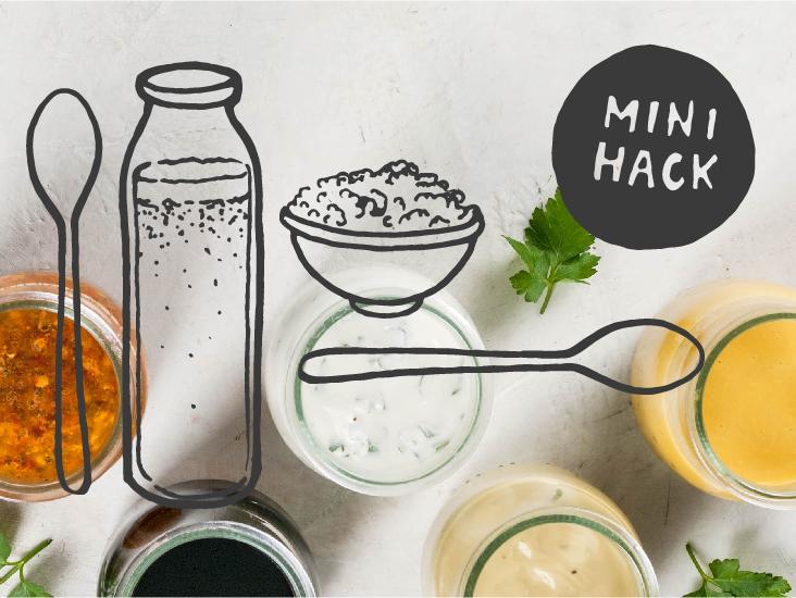 mini hack probiotics on the cheap
