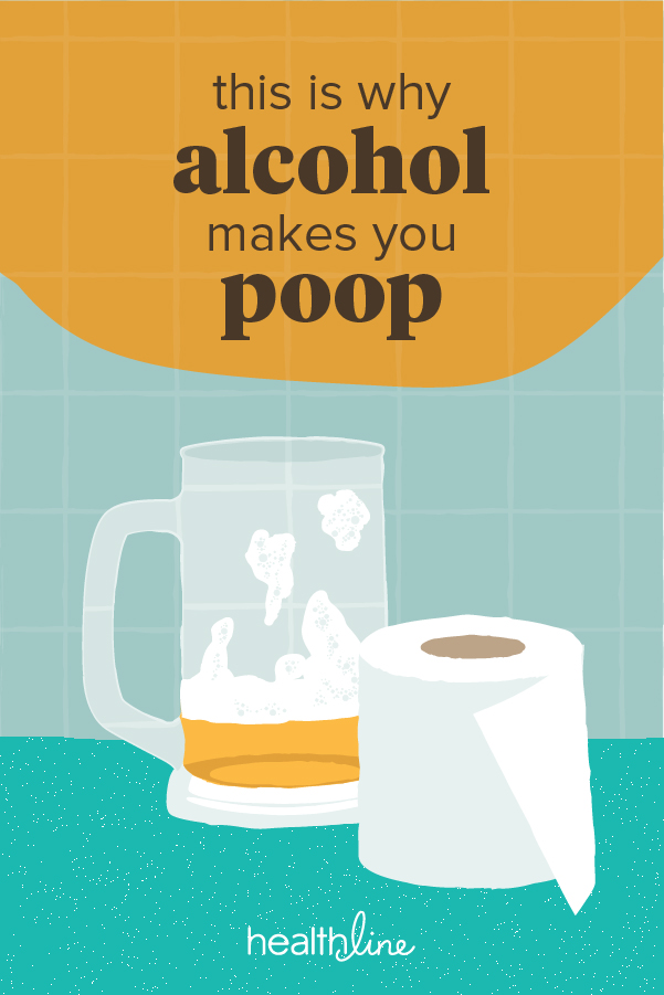 Why Alcohol Makes You Poop