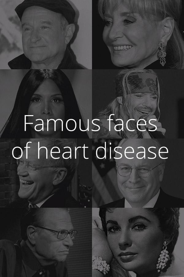 9 Celebrities with Heart Disease