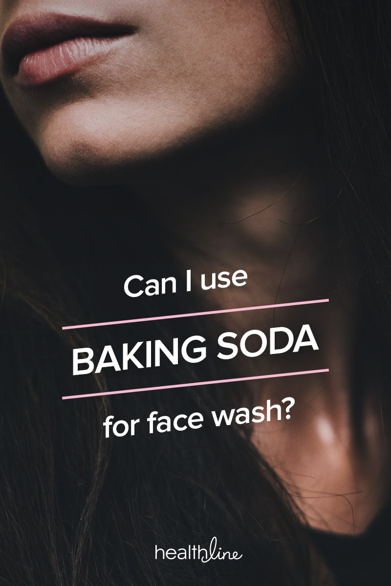 How often do i use baking soda on my face