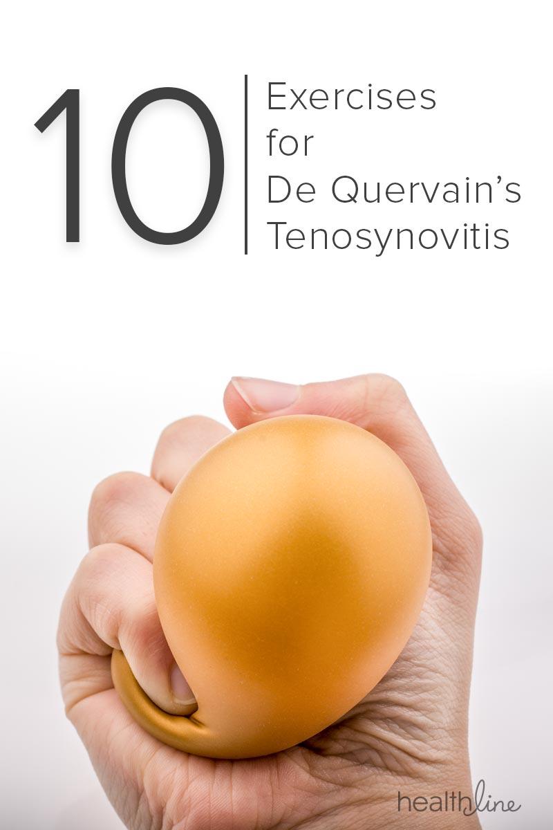 De Quervain\u0027s Tenosynovitis 10 Exercises