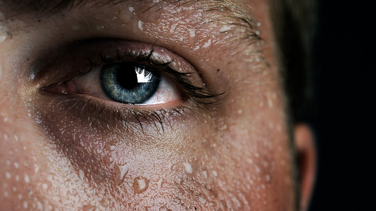 תוצאת תמונה עבור What Is Sweat? are you sweating? are you Sweating? 7607 eye sweat 1296x728 body image 01