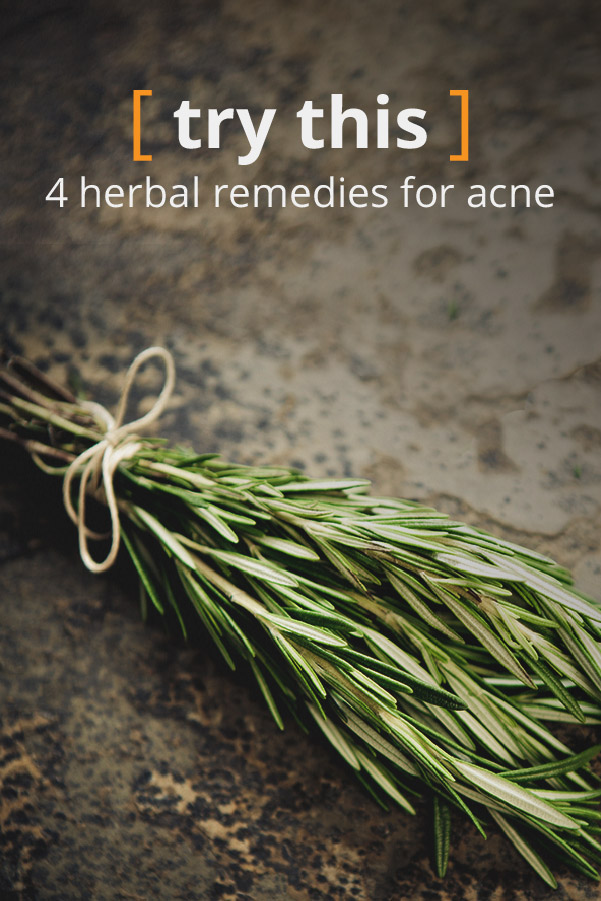 Herbs for Acne: Know the Facts