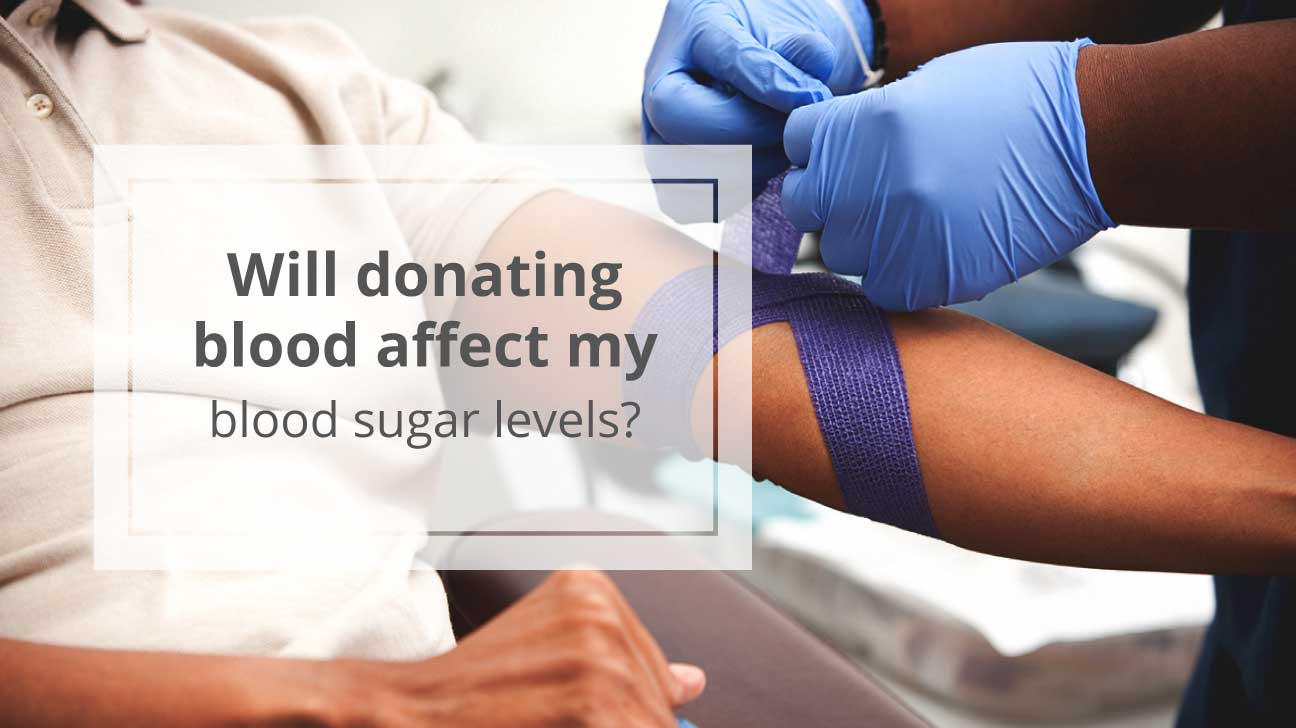 can diabetics donate blood