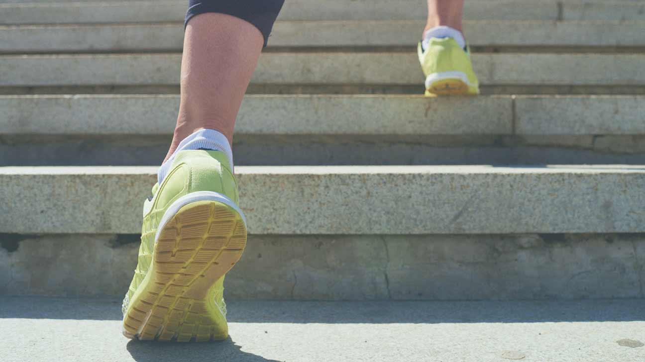 Urcatul scărilor