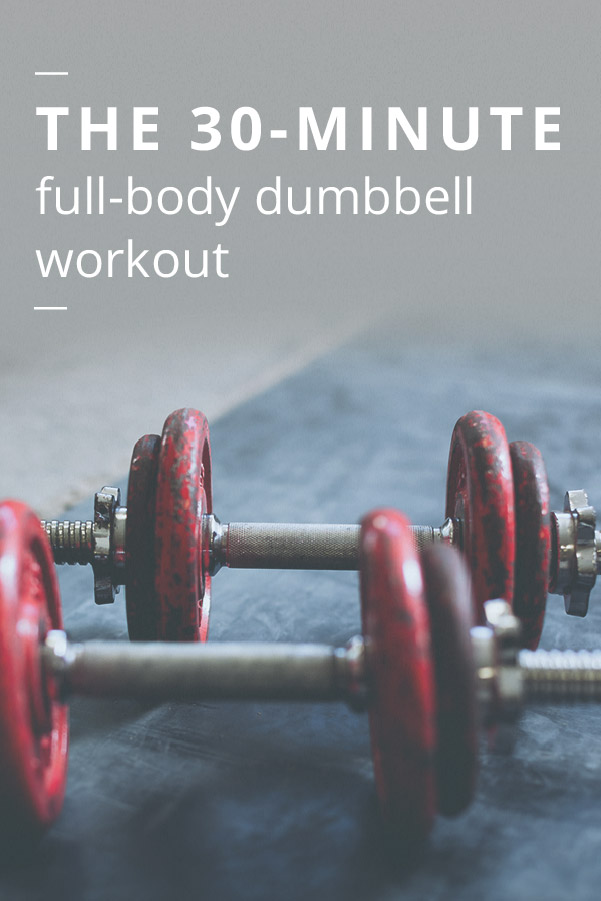 Full-Body Dumbbell Workout: 30-Minute Routine