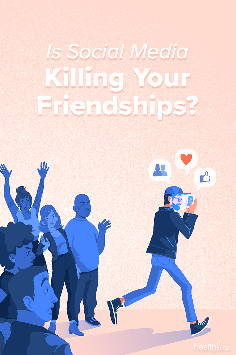 Social media damaging relationships