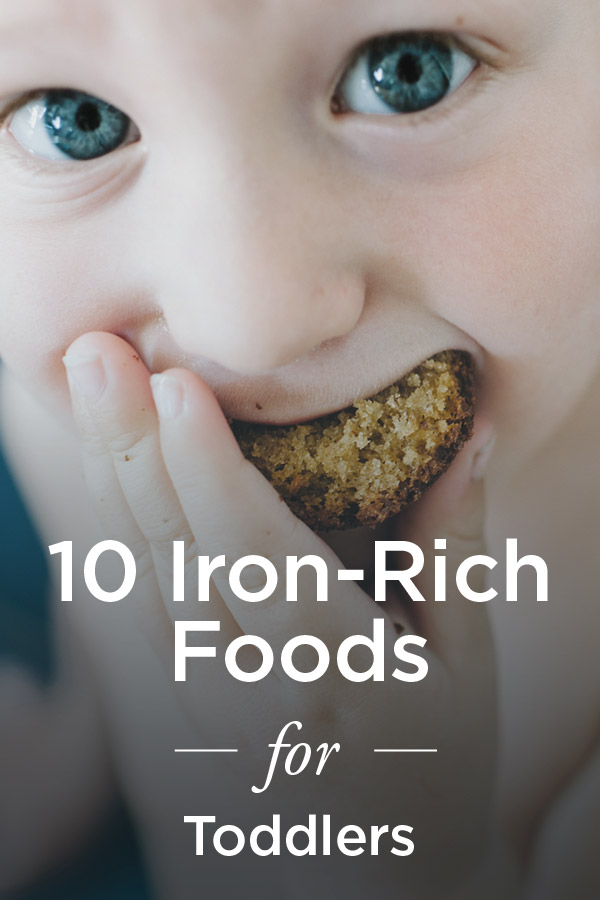 Iron-Rich Foods for Toddlers: 10 to Try