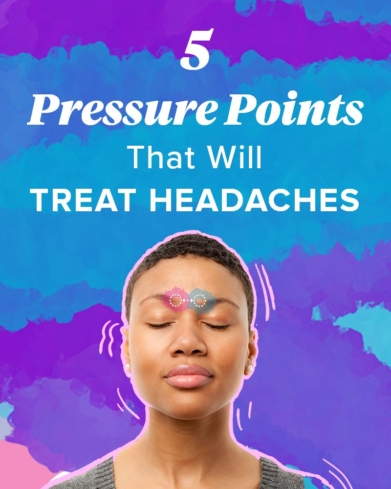 Pressure Points for Headaches: Tension, Sinus, and More