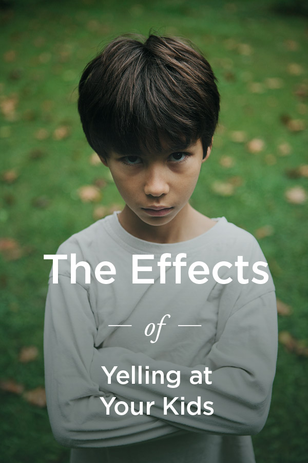 Yelling at Kids: Long-Term Effects