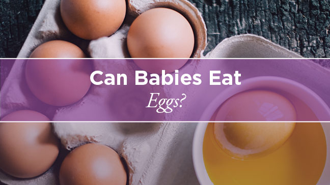 Can Babies Eat Eggs
