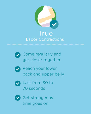 labor contractions