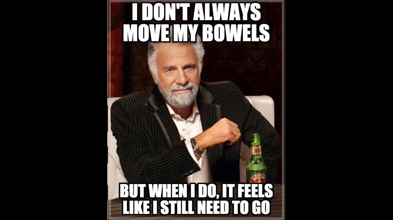 6 Memes That Describe Constipation