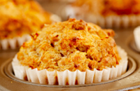 Banana Carrot and Pecan Muffins