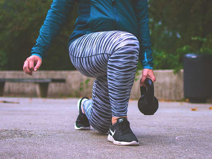 How to burn fat behind the knee