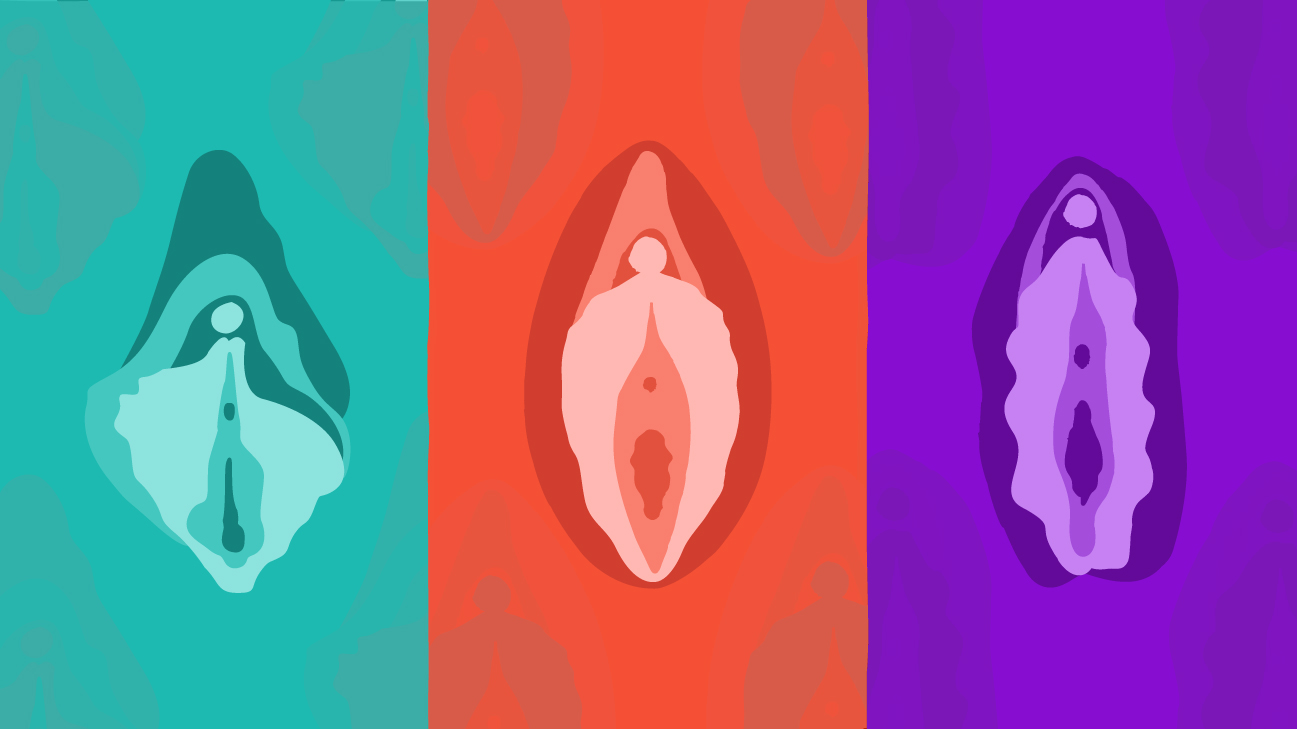 swollen-clitoral-gland-and-lip